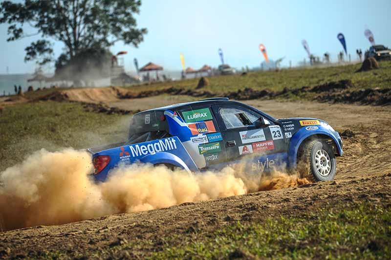 Lucas e Kaique lideram o ranking geral da Mitsubishi Cup - Márcio Machado/AUTOTERRA