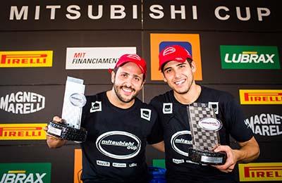 Com o resultado, a dupla faturou o campeonato 2014 - Foto: Tom Papp / Mitsubishi