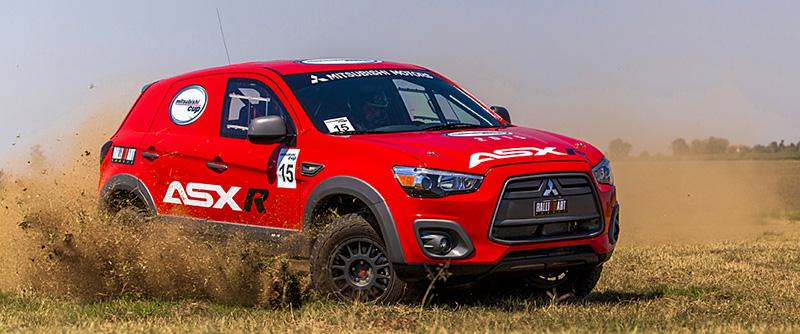 ASX R fará sua estreia na temporada 2015 do rali - Foto: Murilo Mattos / Mitsubishi