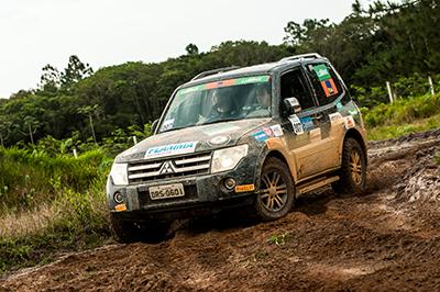 A lama deixou as trilhas ainda mais emocionantes - Foto: Ricardo Leizer/Mitsubishi