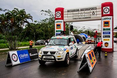 Joinville (SC) foi palco da penúltima etapa do Mitsubishi Motorsports 2014 - Foto:  Adriano Carrapato/Mitsubishi