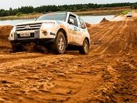 Por conta da chuva dos dias anteriores à prova, a lama marcou presença - Foto:  Ricardo Leizer/Mitsubishi