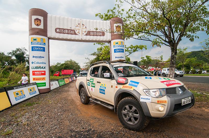 Joinville (SC) atraiu equipes para um sábado repleto de diversão - Foto:  Cadu Rolim/Mitsubishi