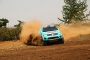 Campeões do Rally Serra Azul, na Super Production - Foto:  Sanderson Pereira/Photo-S
