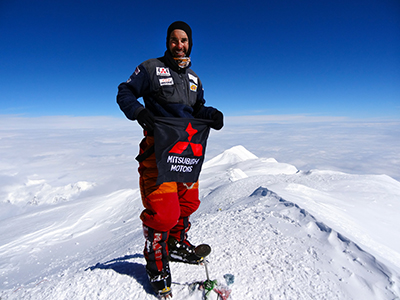 Rodrigo Raineri já chegou ao cume do Everest