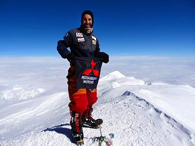 Rodrigo Raineri já chegou ao cume do Everest
