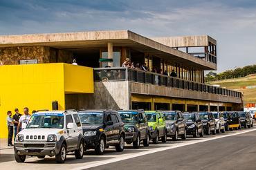 De acordo com o regulamento, todos os modelos Suzuki desde 2008 são aceitos - Foto:  Murilo Mattos