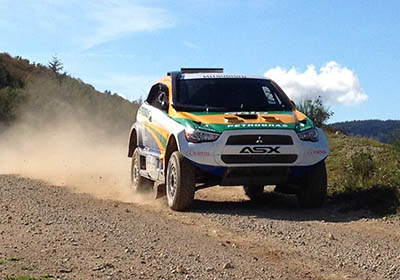 ASX Racing: Equipe Mitsubishi Petrobras está no Chile com dois veículos