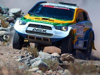 Sousa e Fiuza são líderes do Atacama Rally - Foto:  Gustavo Epifanio/Mitsubishi