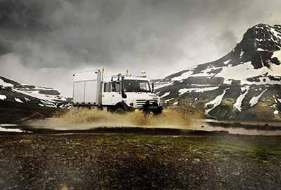 O Mercedes-Benz Unimog é a melhor escolha para expedições extremas