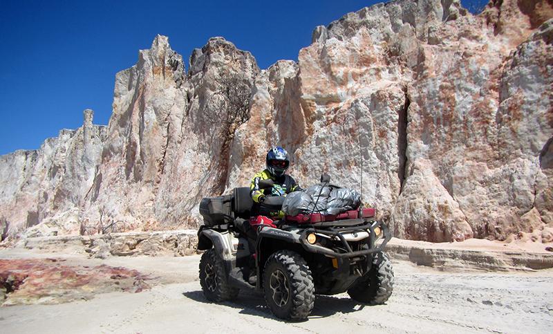 Can-Am Adventure Tours realiza passeios para quadriciclos e UTVs por todo o país - Foto: Divulgação/Can-Am