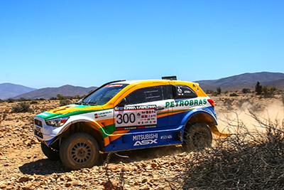 ASX Racing foi colocado à prova no deserto do Atacama - Foto:  Magnus Torquato/Mitsubishi