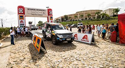 Nação 4x4 se reuniu em Fortaleza (CE) para a 3ª etapa do Mitsubishi Motorsports  - Foto:  Ricardo Leizer / Mitsubishi