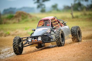 Alain Dubois com o protótipo SAT Racing 001 - Foto:  Gustavo Epifânio/Webventure