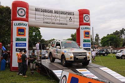 Ribeirão Preto recebe etapa final do ralis Mitsubishi - Foto:  David Santos Jr/Mitsubishi
