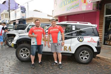 Ricardo Barra e Vanderlei  - Foto:  Ney Evangelista/DFotos