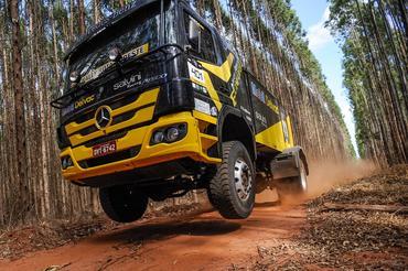 Caminhão multicampeão - Foto:  Gustavo Epifânio/Webventure