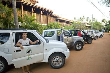 Suzuki Jimny é eleito o carro oficial do Projeto Tamar
