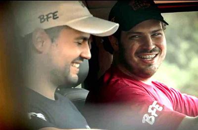 Richard Berini e seu amigo Aluizio Meneghelo são responsáveis pelo Blog Brasil Fora de Estrada na web