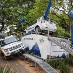Land Rover monta test-drive off road expresso no Shopping Morumbi