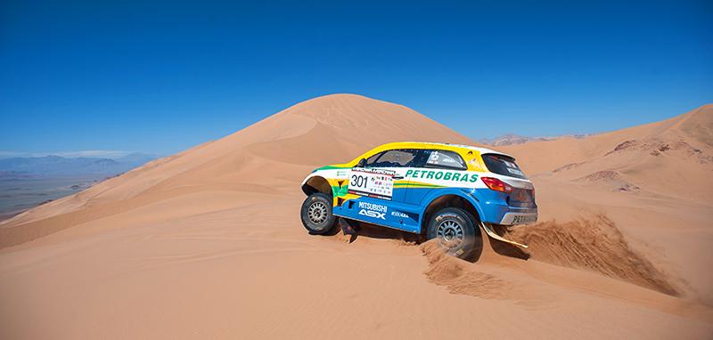 Prova passará pelo Deserto do Atacama - Foto: Gustavo Epifânio / Mitsubishi