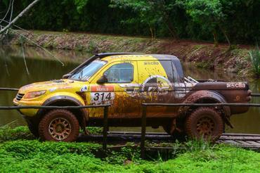 No Campeonato Brasileiro, MS Rally conquistou a terceira posição da Pró Brasil - Foto:  Doni Castilho/DFOTOS