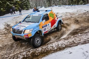 Reinaldo Varela e Gustavo Gugelmin impressionaram na neve - Foto:  Marian Chytka