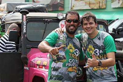 Aristol Cotini e o prefeito Aluizio São José de Coxim-MS/Pantanal
