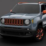 Jeep® Renegade é atração no Salão de Detroit