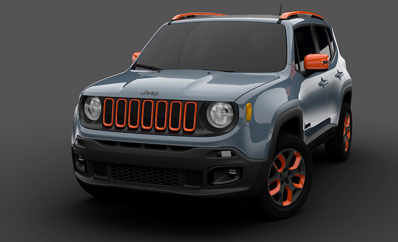 The Mopar display at the 2015 North American International Auto Show (NAIAS) in Detroit will spotlight an urban Mopar-equipped Jeep Renegade that enhances the city-sized proportions and versatility of the all-new 2015 Renegade with selections from the Jeep Authentic Accessories catalog.