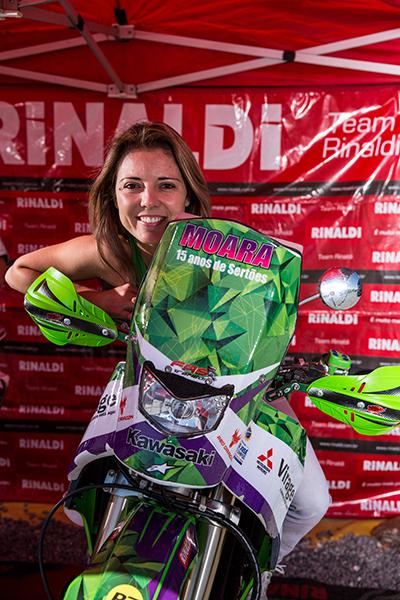 A piloto Moara Sacilotti participou de todas as edições do Rally Barretos - Foto:  Vinicius Branca