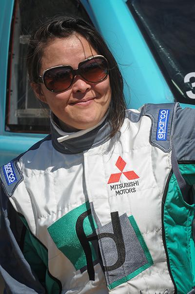A navegadora Minae Miyauti disputará o rali na categoria Carros - Foto:  Fábio Davini/DFOTOS