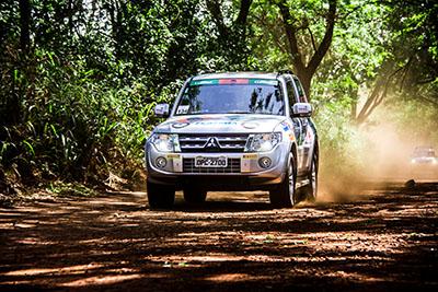 Trilhas divertem os participantes e desafiam os Mitsubishi - Foto:  Adriano Carrapato/Mitsubishi