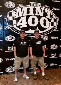 Facco e Humberto na maior prova off-road dos EUA