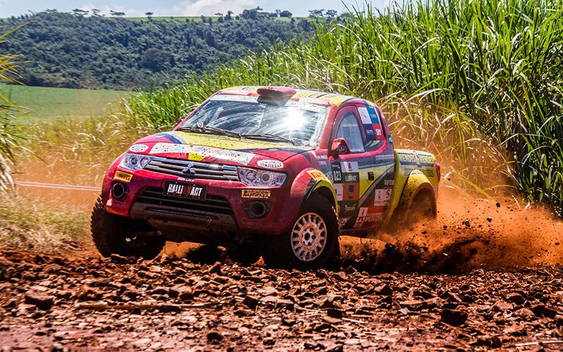 Cidade de Ribeirão Preto (SP) recebeu duplas de todo o Brasil - Foto:  Tom Papp / Mitsubishi