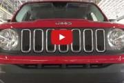 Jeep iniciou hoje a produção em escala comercial do Jeep Renegade