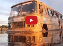 Vídeo: 4ª TPCM//MS – Ônibus 4×4 travessia de rio no Pantanal
