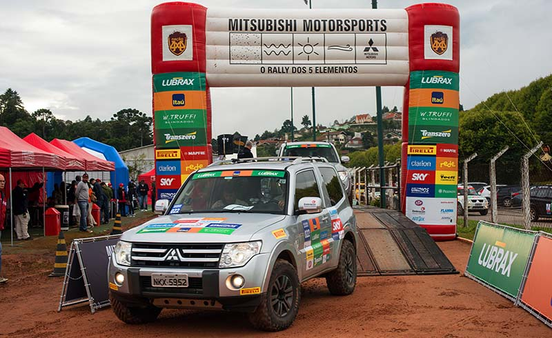 A cidade de Gravatá recebe 1ª etapa do Mitsubishi Motorsports NE dia 25 de abril - Foto:  David Santos Jr/Mitsubishi