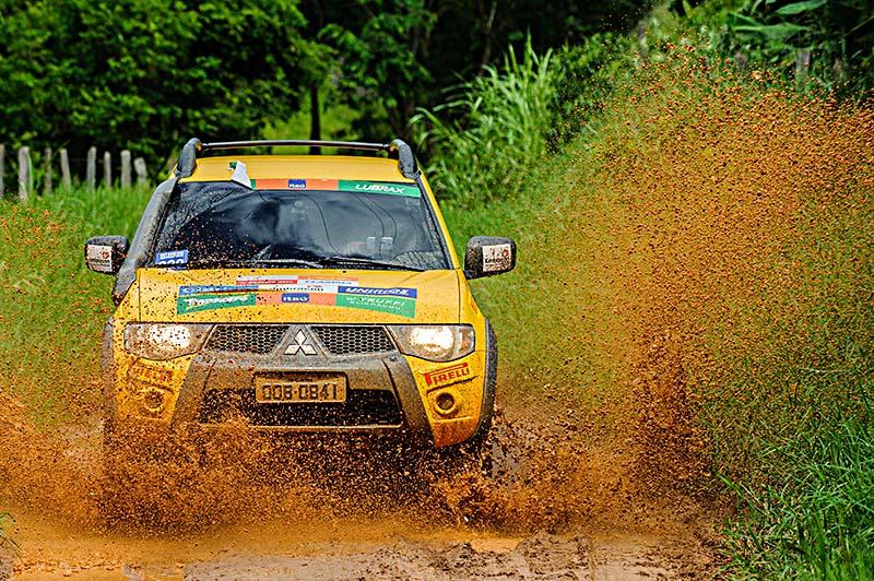 Podem participar os veículos 4x4 das linhas Pajero e L200 - Foto:  David Santos Jr/Mitsubishi