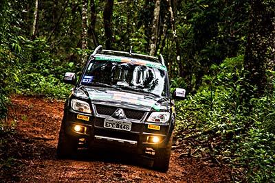 Relevo vai desafiar as duplas e seus Mitsubishi 4x4 - Foto:  Adriano Carrapato/Mitsubishi