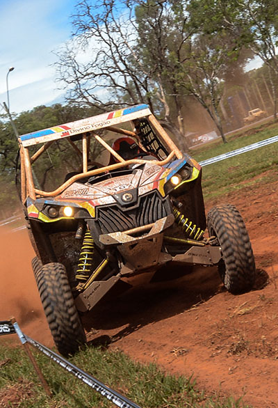 Rodrigo Varela a bordo do Can-Am Maverick Xds Turbo no Brasileiro de Rally Baja  - Foto: Doni Castilho/DFotos