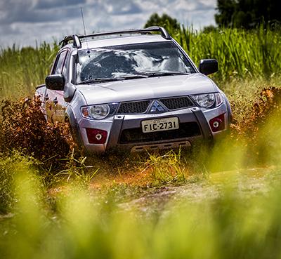 Curso de Rally é para iniciantes e veteranos - Foto:  Murilo Mattos / Mitsubishi