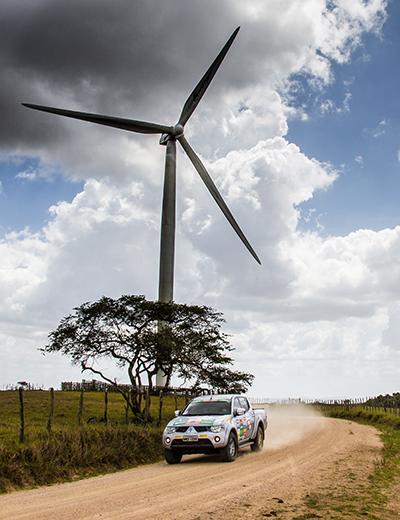 Etapa reuniu competidores em busca de aventura e diversão off-road - Foto:  Adriano Carrapato/Mitsubishi
