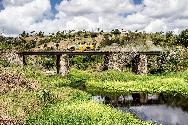 Belas paisagens animaram os competidores - Foto:  Adriano Carrapato/Mitsubishi