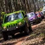 Suzuki Off Road desembarca pela primeira vez em Pomerode (SC)