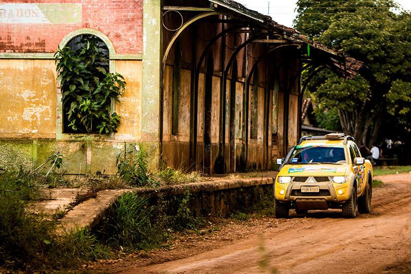 Belas trilhas vão animar os competidores - Foto:  Ricardo Leizer/Mitsubishi