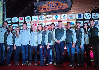 Equipe da FENAJEEP