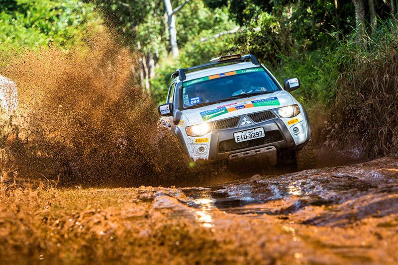 A lama marcou a etapa de São José do Rio Preto - Foto:  Cadu Rolim/Mitsubishi