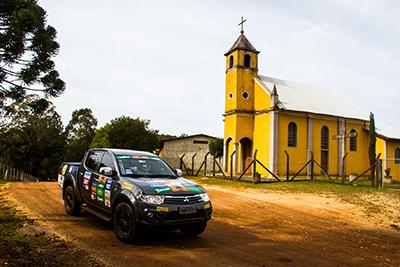 Curitiba marcou presença no calendário do Mitsubishi Motorsports -  Foto:  Adriano Carrapato / Mitsubishi