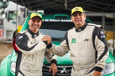 Mauro Guedes e Neurivan Calado estão preparados para mais um Rally dos Sertões - Foto:  Sanderson Pereira
